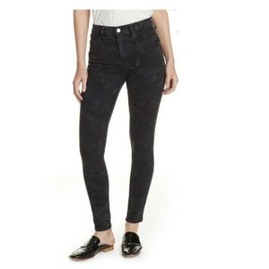 Free People High Waist Denim leggings Size 25 2616